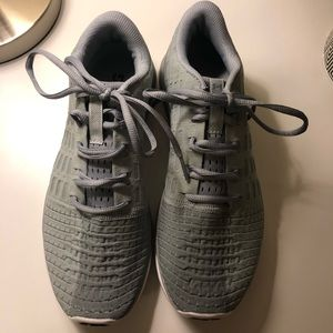 GRAY UNDER ARMOUR SNEAKERS *never worn*